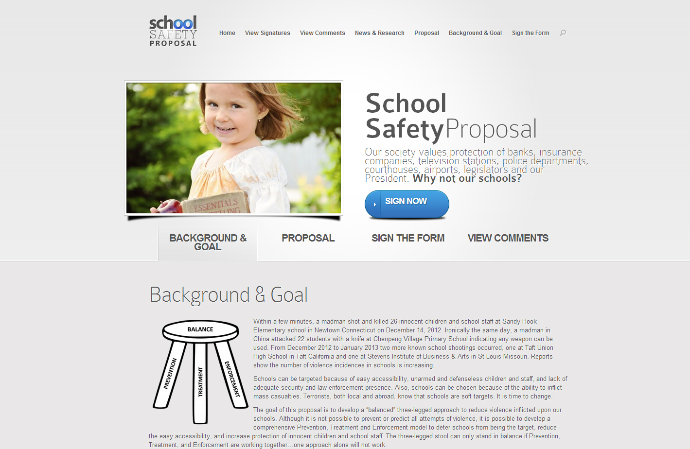 School Safety Proposal
