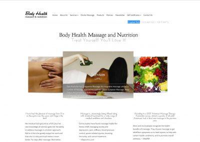 Body Health Massage & Nutrition